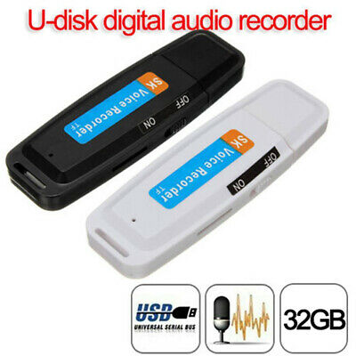 AU Mini USB-Digital Pen Audio Voice Recorder Dictaphone 32 GB Flash Drive U-Disk