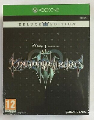 Kingdom Hearts 3 III Deluxe Edition Xbox One NEW & SEALED