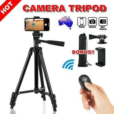 Professional Camera Tripod + Bluetooth Remote Control For iPhone Samsung Huawei