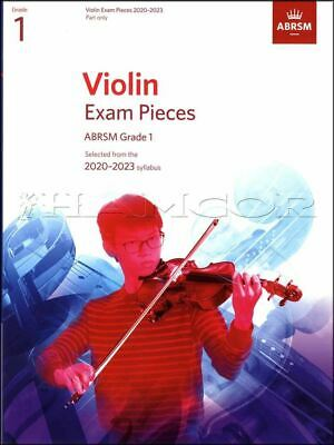 Violin Exam Pieces 2020-2023 Grade 1 Part Only ABRSM Test SAME DAY DISPATCH