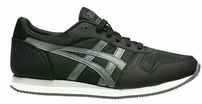 Mens asics Curreo II Trainers Sneakers Shoes Size UK Sneaks Black Fashion Casual