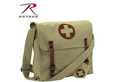 US Army Medical Corps Red Cross Medic Borsa a Tracolla Tela #2