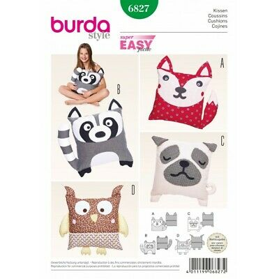 Bur... Burda Homeware Easy Sewing Pattern 8373 Beanbag Chairs Free UK P/&P
