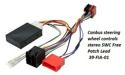 Fiat 500 2008-2016 Canbus steering wheel controls stereo SWC FREE Patch Lead