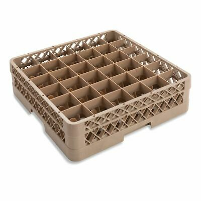 Traex TR7C Beige 36 Compartment Glass Rack with 1 Extender