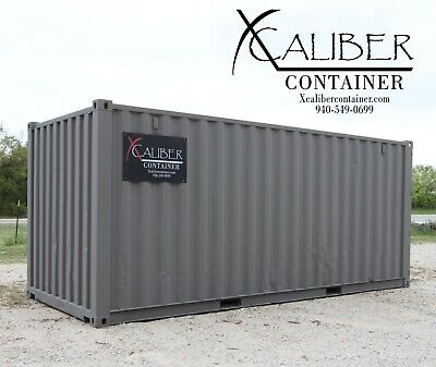 20' STD Refurbished Shipping Container Conex Box Cargo Container Lubbock, Texas