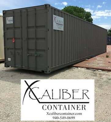 40' STD Refurbished Shipping Container Conex Box Cargo Container Lubbock, Texas