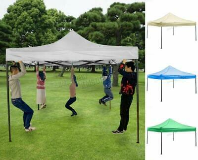 Strong Heavy Duty Pop Up Gazebo Marquee Garden Party Waterproof Canopy Tent 3X3m