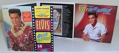 """Elvis Presley 2 Cd """"Blue Hawaii"""" 2009 Ftd #79 Hollywood Studio Sessions Outtakes"""