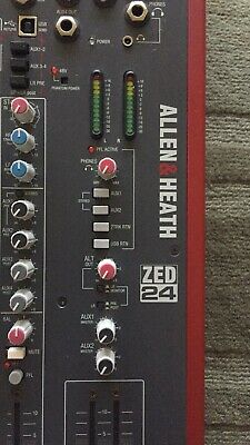 Allen and Heath Zed 24 Mixing Console