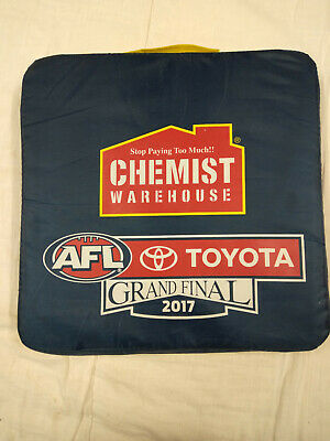 2017 Collectable AFL Grand Final Seat Cushion - Adelaide V Richmond