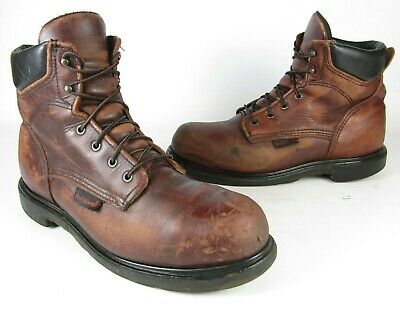 78ab3b7dc65 RED WING 2406 Brown Leather Steel Toe 6