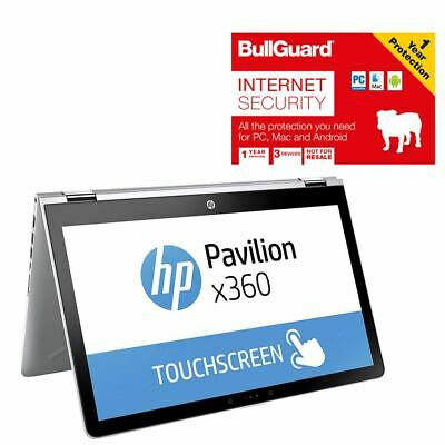 """HP 15-BR015NA X360 15.6"""" Convertible Laptop Missing Power Pack With BullGuard"""