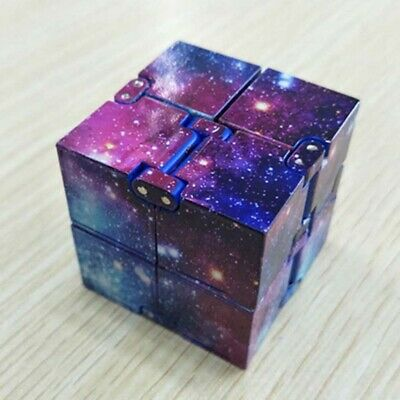 Magic Cube Stress Relief Anti Anxiety Puzzle Variants Galaxy ADHD Fidget Toy Hot