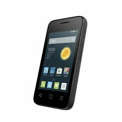 "Alcatel Pixi 3 4009X Smart Phone 3.5"" Display Black Unlocked Sim Free Grade C"