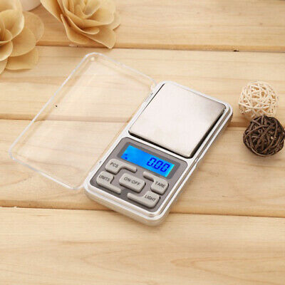 MINI 500g 0.01 DIGITAL POCKET SCALES JEWELLERY PRECISION ELECTRONIC WEIGHT LAB