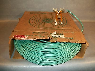Essex #14 Green Stranded Copper Wire Approx. 400'