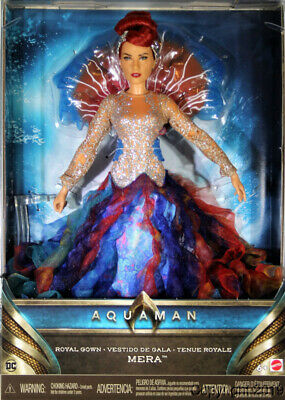 Aquaman Mera Royal Gown Doll by Mattel IN STOCK NOW!