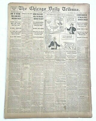 1933 CHICAGO DAILY Tribune Newspaper Chicago Bears 0 St