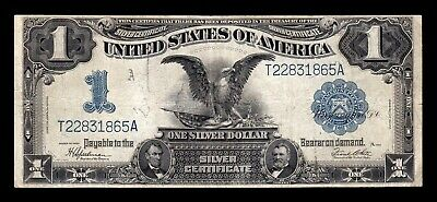B-D-M United States of America 1 Dollar Eagle 1899 Pick 338c BC F