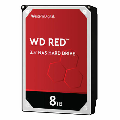 WD Red 8TB HDD WD80EFAX SATA 6Gb/s 5400rpm 3.5zoll NAS Festplatte