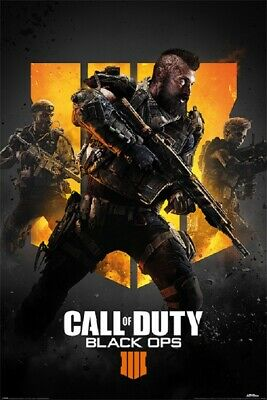CALL OF DUTY POSTER, Black Ops 4 Version, (Size 24 x 36)