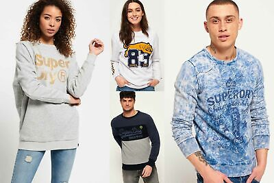 New Superdry Sweatshirts Selection for Men and Women - Various Styles & Colours