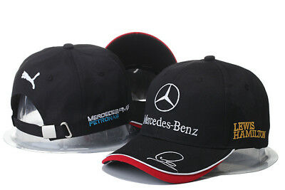 NEW 2019 Mercedes AMG F1 Adults Lewis Hamilton Baseball Cap Hat T1