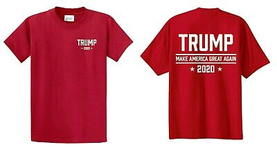 Trump 2020 Make America Great Again Tee Shirt President Political Election