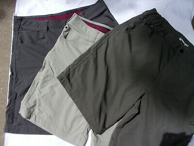 1d519dc6 3 Pairs Wrangler Performance Ripstop Shorts Size 36 Cargo Outdoors Quick Dry  EUC