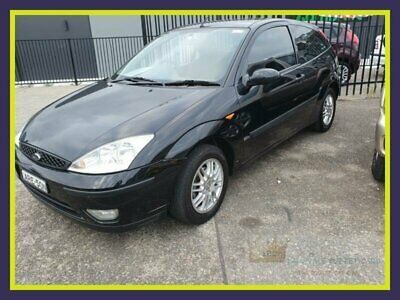 2004 Ford Focus LR Zetec Black Manual 5sp M Hatchback