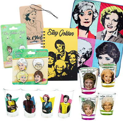 Golden Girls Ultimate Fan Bundle With Notebook, Collector Pin And More