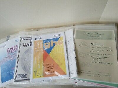Lot of 14 packets Golden Threads Meadowlyon Continuous Line Kits Patterns