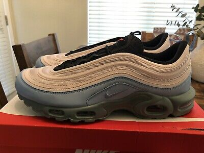 8f03b3171c Nike Air Max Plus / 97 Layer Cake AH8143 300 Size 12.5 MICA GREEN/BARELY