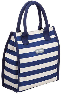 """4.5 Kitchencraft /""""WE LOVE SUMMER/"""" Grands marins à rayures famille Cool Sac 21 L"""