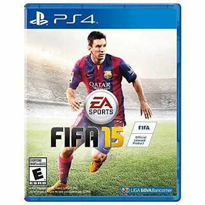 FIFA 15 For PlayStation 4 PS4 Soccer Very Good 4E