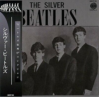 THE BEATLES - THE SILVER BEATLES ( MINI LP AUDIO CD with OBI )  FREE SHIPPING