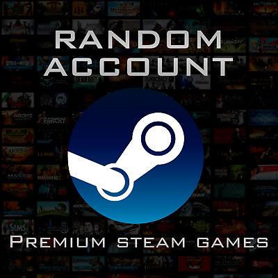 Total Sale⭐️ Random Steam account / PREMIUM GAMES / Instant Delivery  + BIG GIFT
