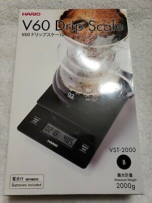 Hario V60 Drip Coffee Scale - Black