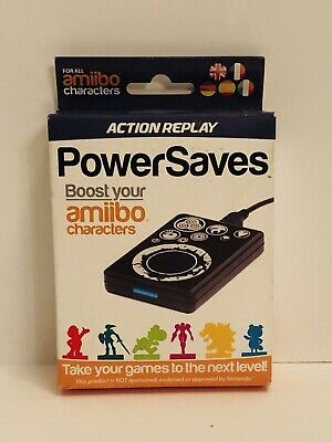 AMIIBO ACTION REPLAY Power Saves POWER TAG - Nintendo Switch