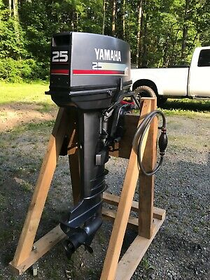 """2016 YAMAHA 20HP Fourstroke 20"""" Electric Start Tiller Outboard Clean"""