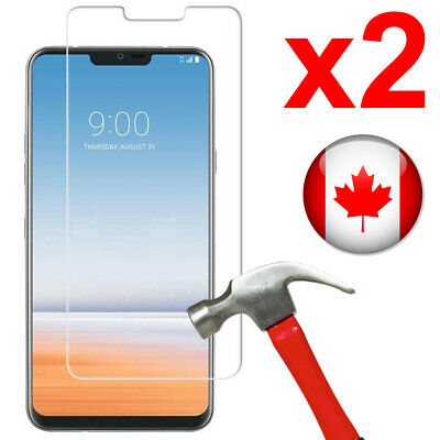 2x Tempered Glass Screen Protector for LG G7 ThinQ / LG G7 Fit / LG G7 One