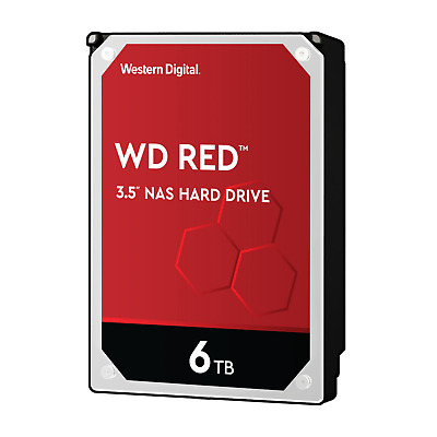 WD Red WD60EFAX - 6TB 5400rpm 256MB 3.5zoll SATA600