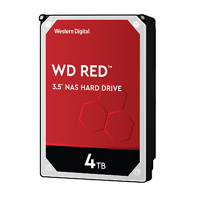 WD Red WD40EFRX - 4TB 5400rpm 64MB 3.5zoll SATA600