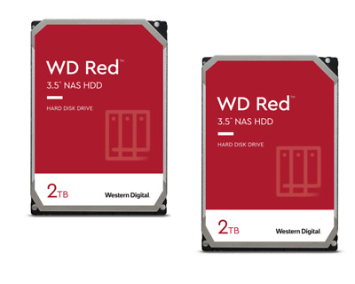 WD Red 2er Set WD20EFRX - 2TB 5400rpm 64MB 3.5zoll SATA600