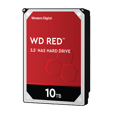 WD Red WD100EFAX - 10TB 5400rpm 256MB 3.5zoll SATA600