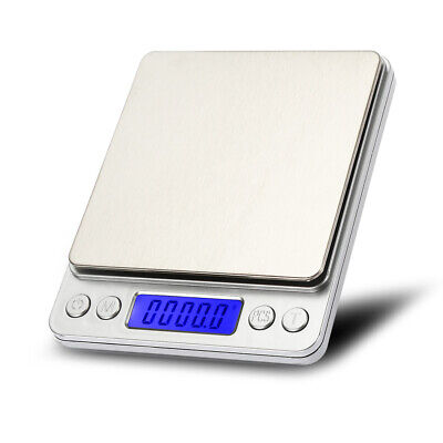 Mini 0.01g-500g Small Pocket Digital Gold Weighing Pans Scales Jewelry Scale UK