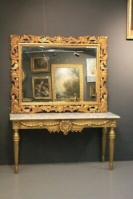 Console Table with Dressing Table,Wooden Gold,Piano Book End Deco Marble