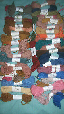 Appletons Tapestry All Wool England Embroidery Thread Assorted Colours Bargain