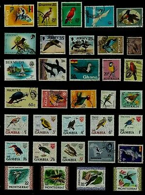 BIRDS Thematic STAMP Collection MINT USED Our Ref:TT34
